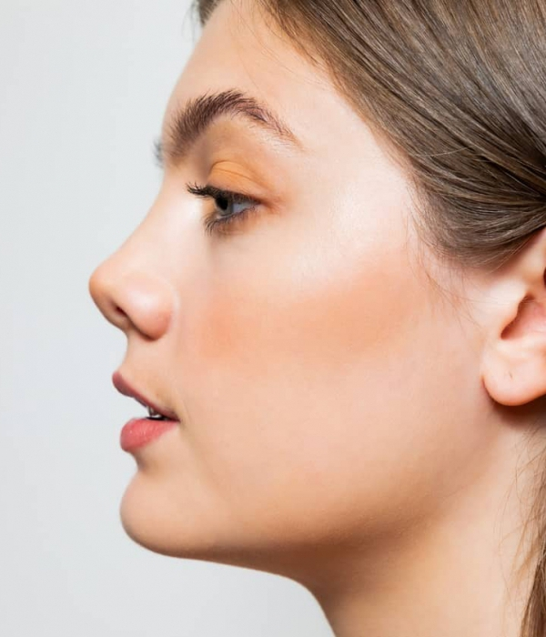 Add Balance to the side profile of the face